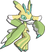 Lurantis Shiny sprite from Sun & Moon