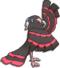 Oricorio Shiny sprite from Sun & Moon