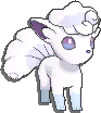 Vulpix Shiny sprite from Sun & Moon