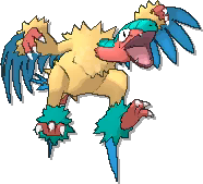 Archeops  sprite from Ultra Sun & Ultra Moon