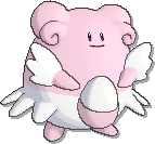 Blissey  sprite from Ultra Sun & Ultra Moon & Sun & Moon