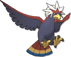 Braviary  sprite from Ultra Sun & Ultra Moon