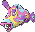 Bruxish  sprite from Ultra Sun & Ultra Moon