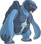 Carracosta  sprite from Ultra Sun & Ultra Moon & Sun & Moon