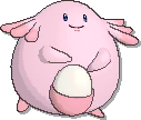 Chansey  sprite from Ultra Sun & Ultra Moon