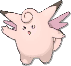 Clefable  sprite from Ultra Sun & Ultra Moon & Sun & Moon