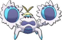 Crabominable  sprite from Ultra Sun & Ultra Moon