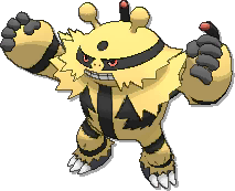 Electivire  sprite from Ultra Sun & Ultra Moon