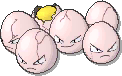 Exeggcute  sprite from Ultra Sun & Ultra Moon