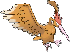 Fearow  sprite from Ultra Sun & Ultra Moon & Sun & Moon