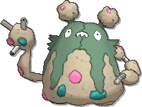 Garbodor  sprite from Ultra Sun & Ultra Moon