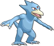 Golduck  sprite from Ultra Sun & Ultra Moon & Sun & Moon