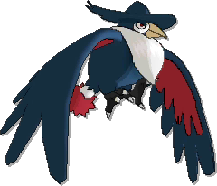 Honchkrow  sprite from Ultra Sun & Ultra Moon