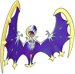 Lunala  sprite from Sun & Moon