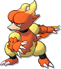 Magmar  sprite from Ultra Sun & Ultra Moon