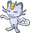 Meowth  sprite from Ultra Sun & Ultra Moon & Sun & Moon