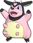 Miltank  sprite from Ultra Sun & Ultra Moon