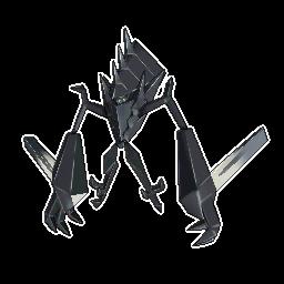 Necrozma  sprite from Sun & Moon