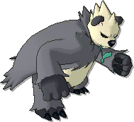 Pangoro  sprite from Ultra Sun & Ultra Moon