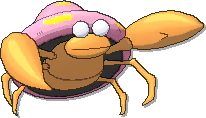Parasect  sprite from Ultra Sun & Ultra Moon