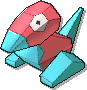 Porygon  sprite from Ultra Sun & Ultra Moon