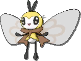 Ribombee  sprite from Sun & Moon