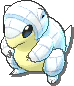 Sandshrew  sprite from Ultra Sun & Ultra Moon