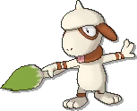 Smeargle  sprite from Ultra Sun & Ultra Moon