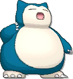 Snorlax  sprite from Ultra Sun & Ultra Moon