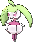 Steenee  sprite from Ultra Sun & Ultra Moon