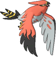 Talonflame  sprite from Ultra Sun & Ultra Moon