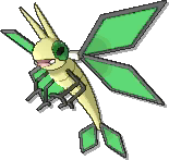Vibrava  sprite from Ultra Sun & Ultra Moon