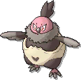 Vullaby  sprite from Ultra Sun & Ultra Moon