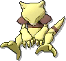 Abra Shiny sprite from Ultra Sun & Ultra Moon & Sun & Moon