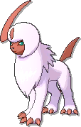 Absol Shiny sprite from Ultra Sun & Ultra Moon & Sun & Moon