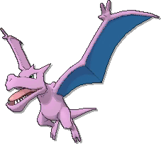 Aerodactyl Shiny sprite from Ultra Sun & Ultra Moon