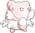 Blissey Shiny sprite from Ultra Sun & Ultra Moon & Sun & Moon