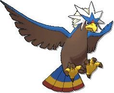 Braviary Shiny sprite from Ultra Sun & Ultra Moon