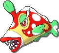 Bruxish Shiny sprite from Ultra Sun & Ultra Moon