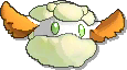 Cottonee Shiny sprite from Ultra Sun & Ultra Moon & Sun & Moon