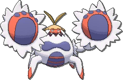 Crabominable Shiny sprite from Ultra Sun & Ultra Moon