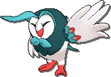 Dartrix Shiny sprite from Ultra Sun & Ultra Moon