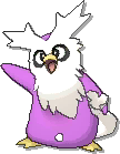 Delibird Shiny sprite from Ultra Sun & Ultra Moon & Sun & Moon
