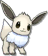 Eevee Shiny sprite from Sun & Moon