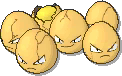 Exeggcute Shiny sprite from Ultra Sun & Ultra Moon