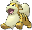 Growlithe Shiny sprite from Ultra Sun & Ultra Moon