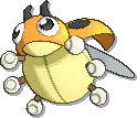 Ledyba Shiny sprite from Ultra Sun & Ultra Moon & Sun & Moon