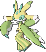 Lurantis Shiny sprite from Ultra Sun & Ultra Moon & Sun & Moon