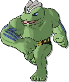 Machoke Shiny sprite from Ultra Sun & Ultra Moon & Sun & Moon