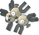Magneton Shiny sprite from Sun & Moon